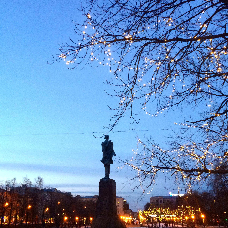Statue de Maxime Gorki
